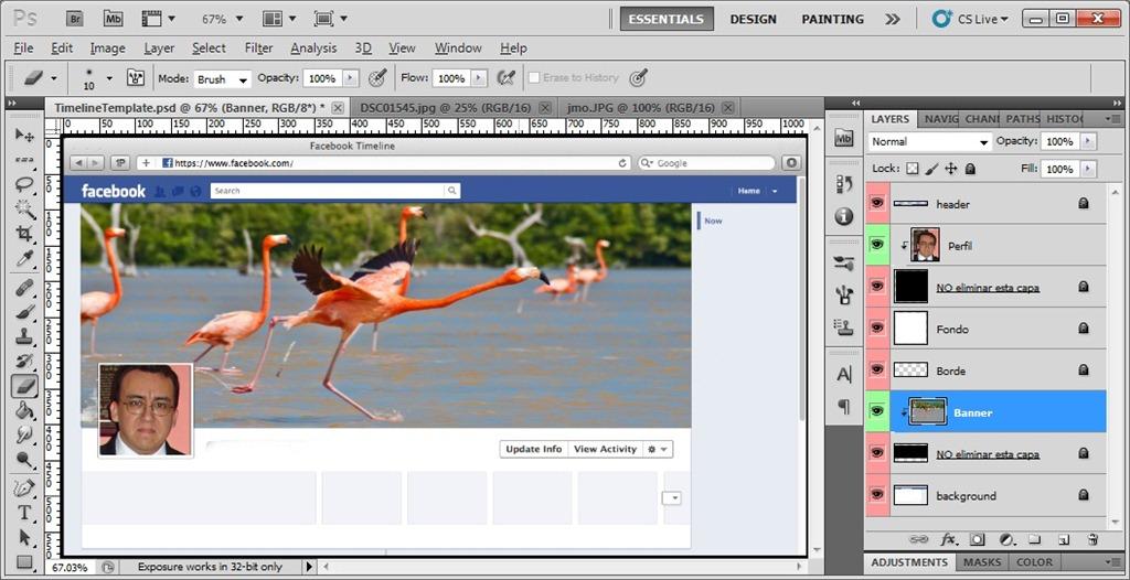 Portada del Facebook Timeline con Photoshop | Fotografia para ...